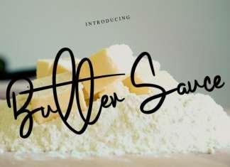 Butter Sauce Script Font