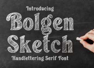 Bolgen Display Font
