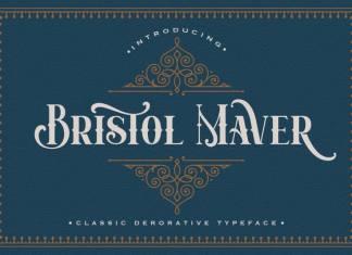 Bristol Maver Display Font