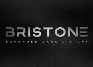 Bristone Display Font