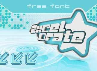 Excelorate Display Font