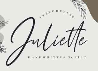 Juliette Script Font