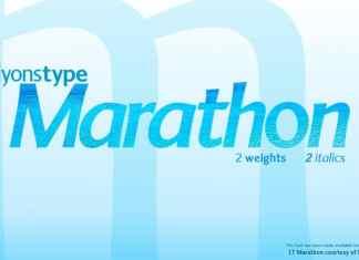LT Marathon Sans Serif Font
