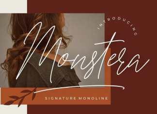 Monstera Handwritten Font