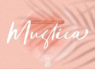 Mustica Script Font