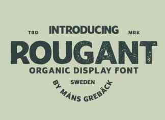 Rougant Display Font