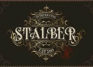 Stalber Blackletter Font