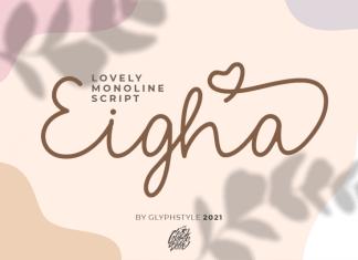 Eigha Script Font