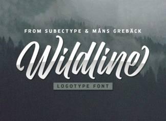 Wildline Script Font