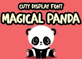 Magical Panda Display Font
