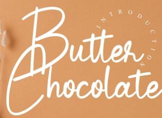 Butter Chocolate Script Font