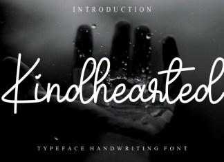 Kindhearted Handwritten Font