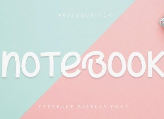 Notebook Display Font