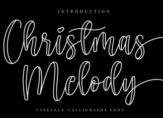 Christmas Melody Script Font