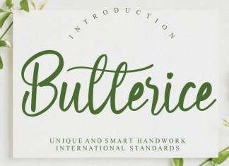 Butterice Script Font