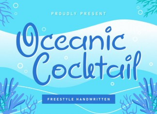 Oceanic Cocktail Display Font