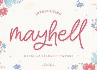 Mayhell Handwritten Font