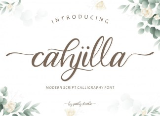 Cahjilla Calligraphy Font