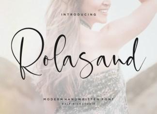 Rolasand Script Font
