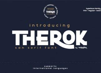 Therok Sans Serif Font
