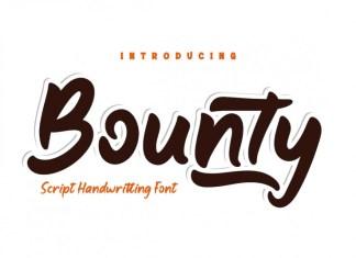 Bounty Display Font