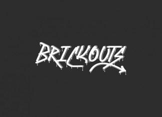 Brickouts Display Font