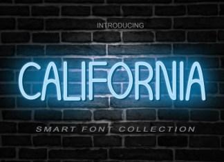 California Display Font