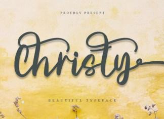 Christy Handwritten Font