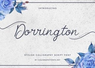 Dorrington Handwriting Font