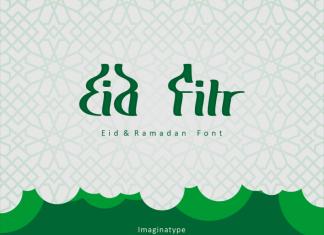 Eid Fitr Display Font