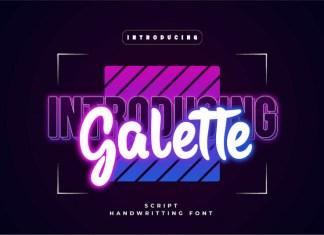 Galette Display Font