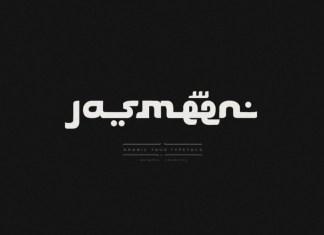 Jasmeen Display Font