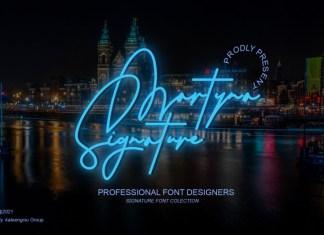 Martyna Signature Script Font