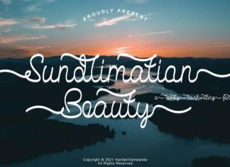 Sundlimation Beauty HandwrittenFont