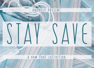 STAY SAVE Sans Serif Font