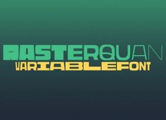 Rasterquan Display Font