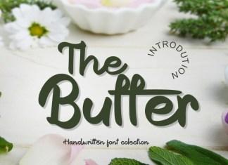 The Butter Script Font