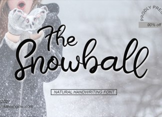 The Snowball Script Font