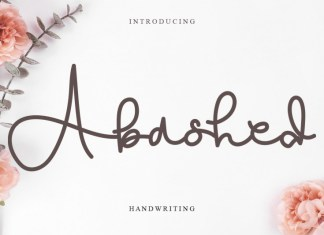 Abashed Handwritten Font