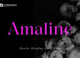 Amaline Serif Font