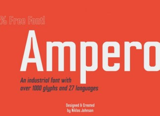 This is a versatile, bold and unique sans serif font family that takes some inspiration from the typeface Compacta, designed by Fred Lambert. This is best used to break up text and stand out on both paper and screen. It's comes in four weights with italics and includes Latin, Cyrillic, and Greek alphabets. Open type features include small caps, positional numerals, fractions, superior & inferior figures, and alternate forms.