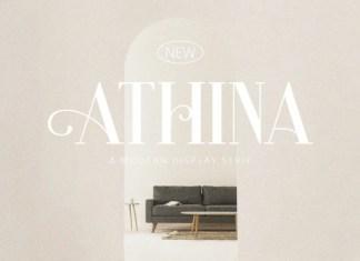Athina Serif Font