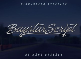 Baystar Script Font