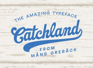 Catchland Bold Script Font