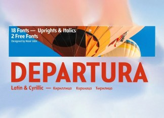Departura Sans Serif Font