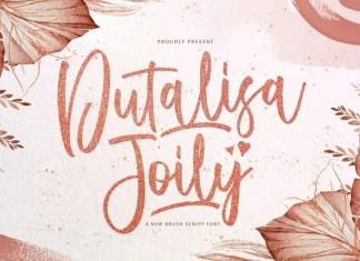 Dutalisa Joily Brush Font