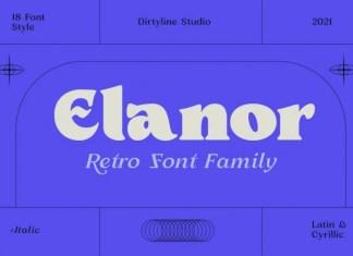 Elanor Serif Font
