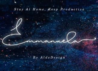 Emmanuela Handwritten Font