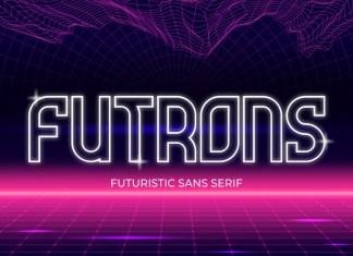 Futrons Display Font
