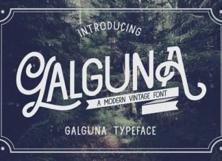 Galguna Sans Serif Font